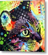 Nappy Cat Metal Print by Dean Russo