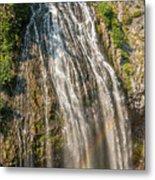 Narada Falls Rainbow Metal Print