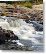 Naraguagus River Metal Print by Steven Scott