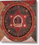Naropa Mandala Metal Print