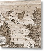 Narragansett Bay, C1880 Metal Print