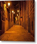 Narrow Alley  Metal Print
