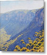 Narrow Neck Katoomba Metal Print