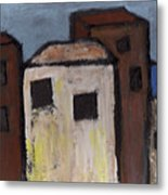 Narrow Street Metal Print
