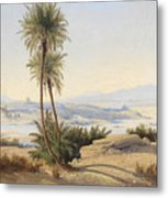 Naser In The Province Of Sukot Metal Print