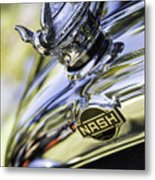 Nash Hood Ornament Metal Print