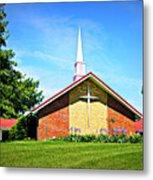 Nashville Baptist Church Metal Print