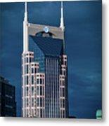 Nashville Landmarks Metal Print