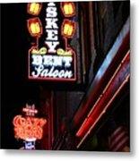 Nashville Neon Signs  Metal Print