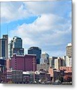 Nashville Panorama View Metal Print