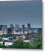 Nashville Skyline 2 Metal Print