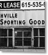Nashville Sporting Goods Metal Print