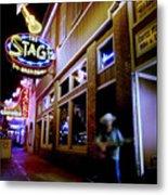 Nashville Street Musician Metal Print by Todd Fox