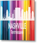 Nashville Tn 2 Vertical Metal Print