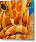 Nassau Grouper  Metal Print