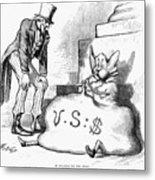 Nast: Inflation, 1873 Metal Print