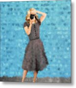 Natalie Metal Print by Nancy Levan