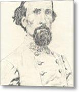 Nathan Bedford Forrest Metal Print