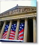 National Archive Building Metal Print