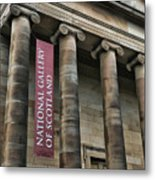 National Gallery Of Scotland  Metal Print