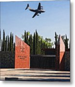 National Medal Of Honor Memorial Fly Over Metal Print