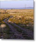 National Old Trails South Of Santa Fe Metal Print