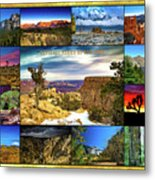 National Parks Of The West Metal Print