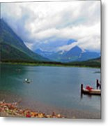 National Parks. Serenity Of Mcdonald Metal Print