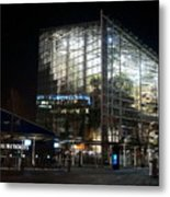 National Seaquarium In Lights Metal Print