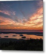 National Sunrise Metal Print