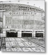 Nationals Park Metal Print