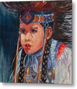 Native American Dance Metal Print