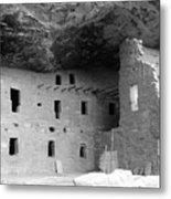 Native American Dwellings Metal Print