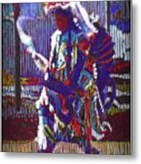 Native American - Male Fancy Dancer #4 Metal Print