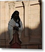 Native American Saint Metal Print