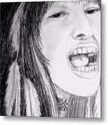 Native American Singer Metal Print