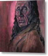 Native American Study Metal Print