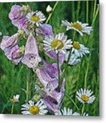 Native Flowers Metal Print