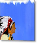 Native Metal Print