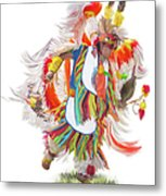Native Rhythm Metal Print