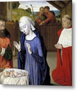 Nativity - Master Of Moulins Metal Print