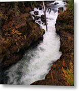 Natural Bridge Gorge Metal Print