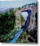 Natural Bridge In Virginia Metal Print
