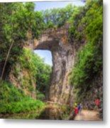 Natural Bridge - Virginia Landmark Metal Print