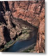 Natural Colorado River Page Arizona  Metal Print