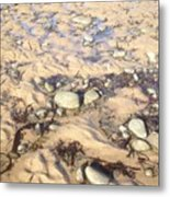 Natural Dishevelment On The Beach, Ireland Metal Print