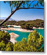 Natural Framing. El Chorro. Spain Metal Print