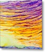 Nature Fireworks On The 4th Of July  Metal Print