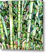 Nature Green Background Metal Print