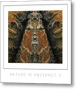 Nature In Abstract 3 Poster Metal Print